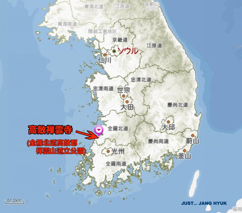 0410-B高敞禅雲寺MAP2