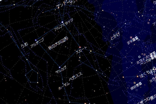 00-○ 20181111 星座確認図-秋の大四辺形