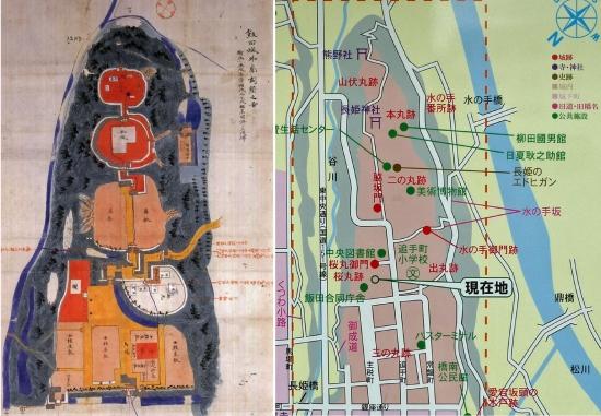 00-飯田城の新旧図-00