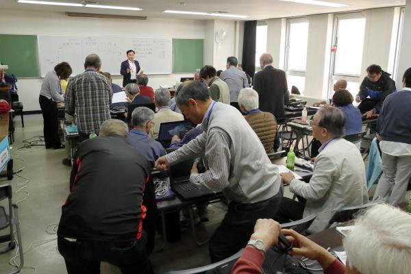 クラスミーティング準備