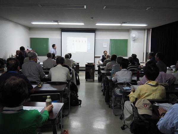 クラスミーティングでの発表①