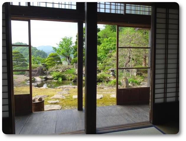 宿泊室からの眺め