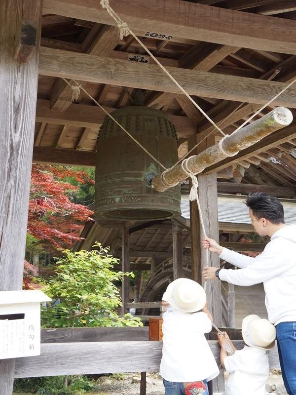白毫寺の鐘の