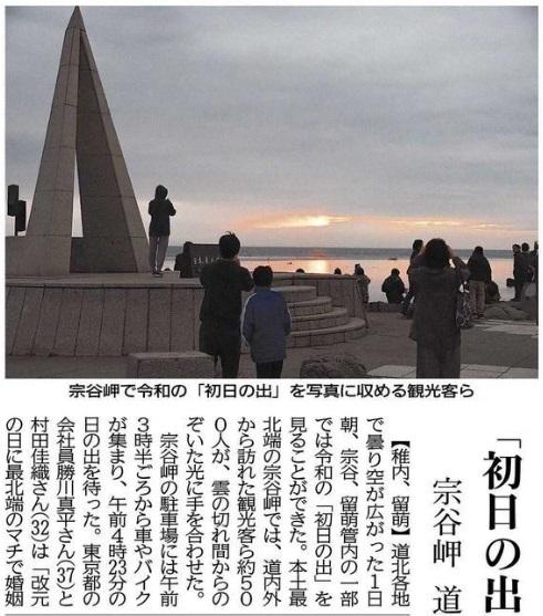20190501道新宗谷岬