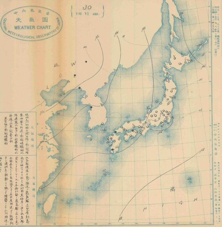 1912073006天気図