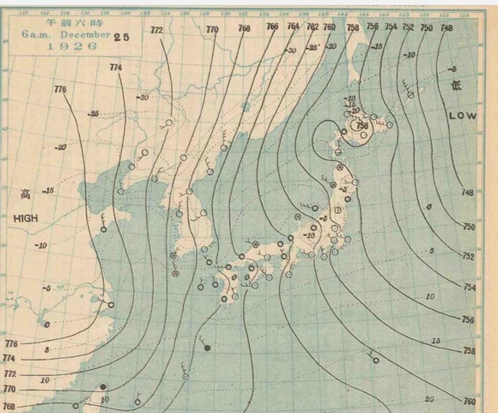 1926122506天気図