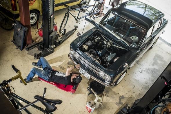 garage life datsun ver