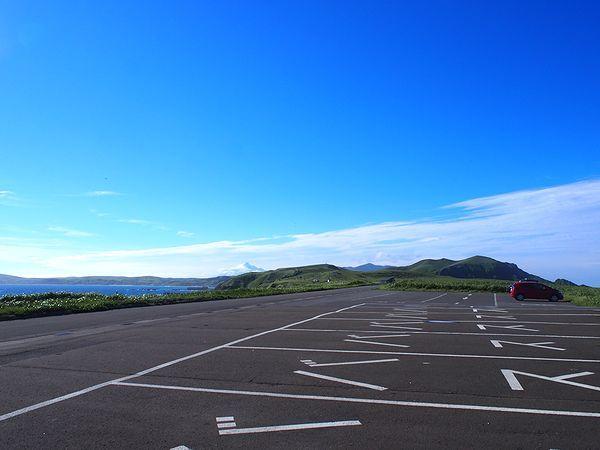 スコトン岬の駐車場