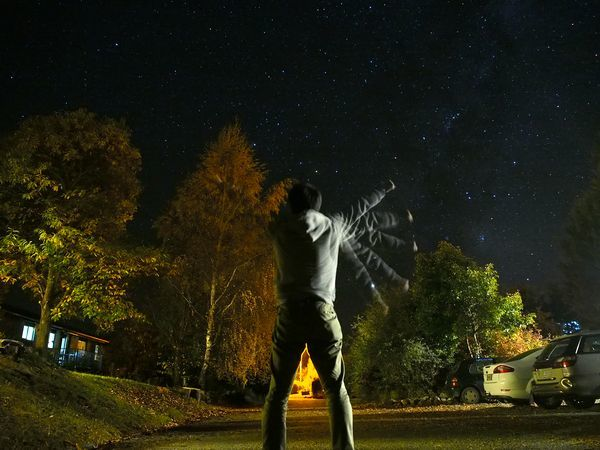 レイクテカポの星空