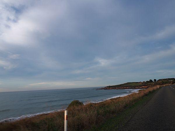 オアマルの海岸ルート