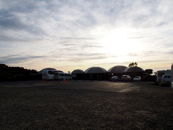 モエラキ・ボルダーの駐車場