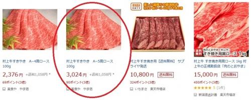 ふるさと納税2019 新潟県村上市 村上牛すき焼き用 追加4-2