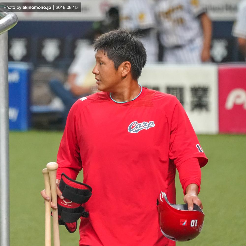 京セラドーム大阪での岩本貴裕選手(2018年)