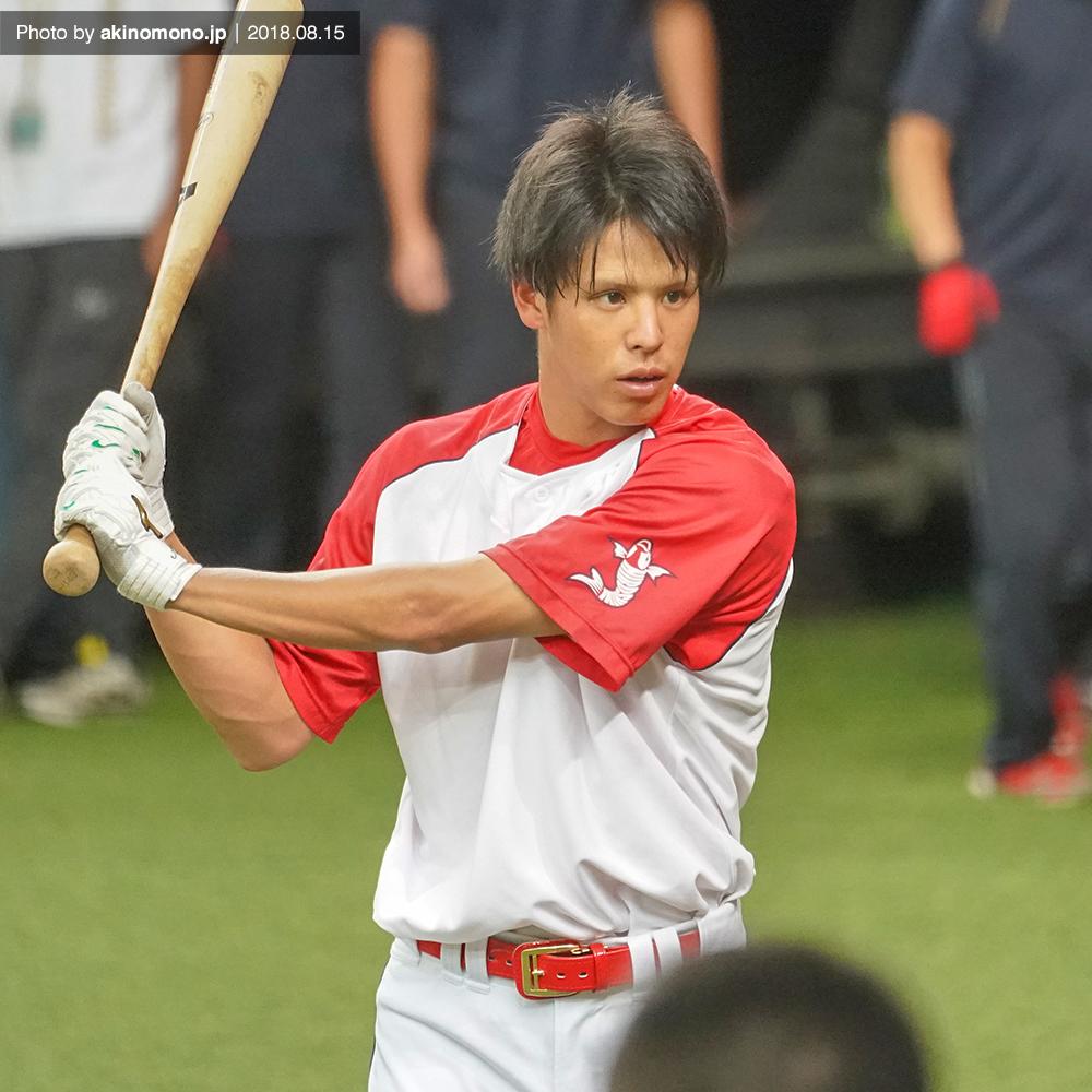 曽根海成選手(京セラドーム)