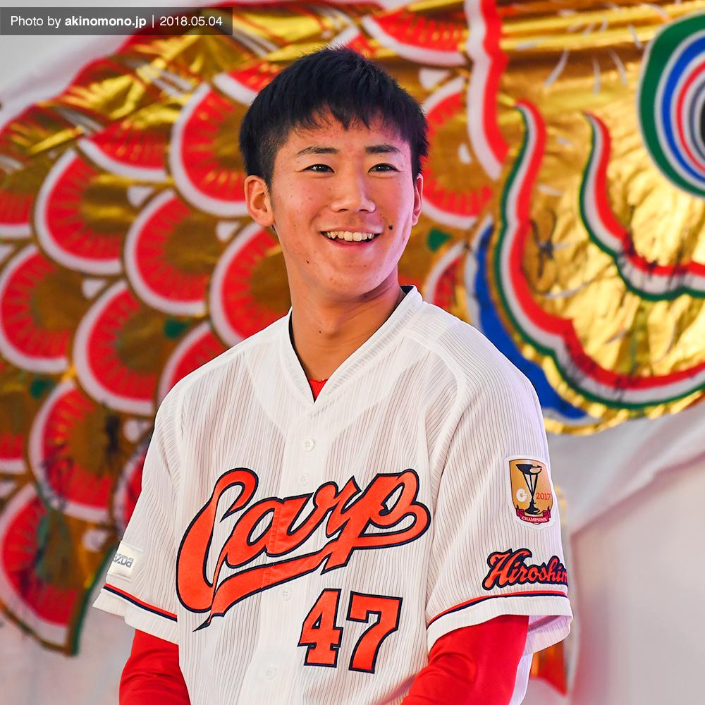 【カープ】4月28日は山口翔投手の誕生日/20歳へ(1999年生まれ ...