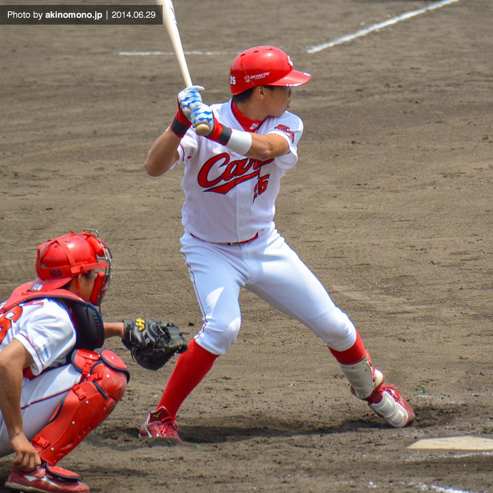 打席に立つ高橋大樹選手(2014年)