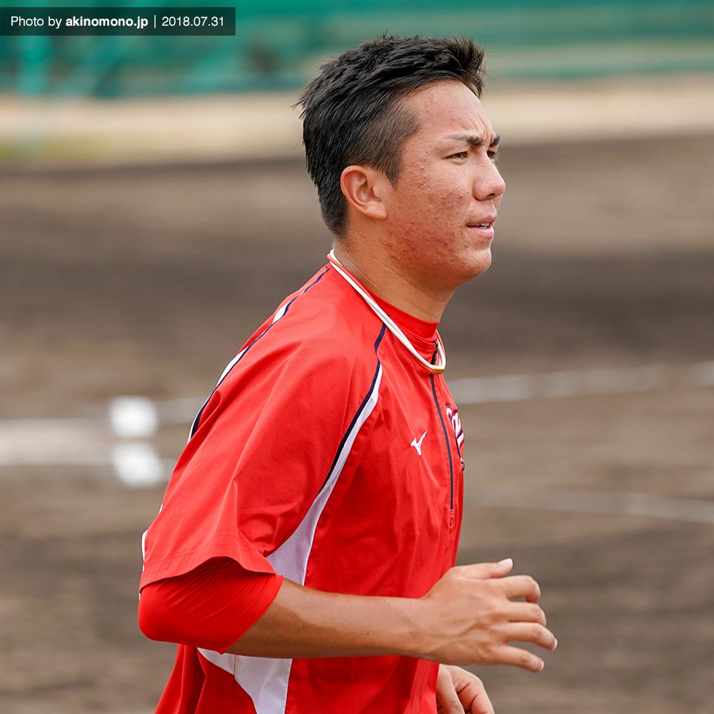 ケムナ誠投手(2018・由宇)