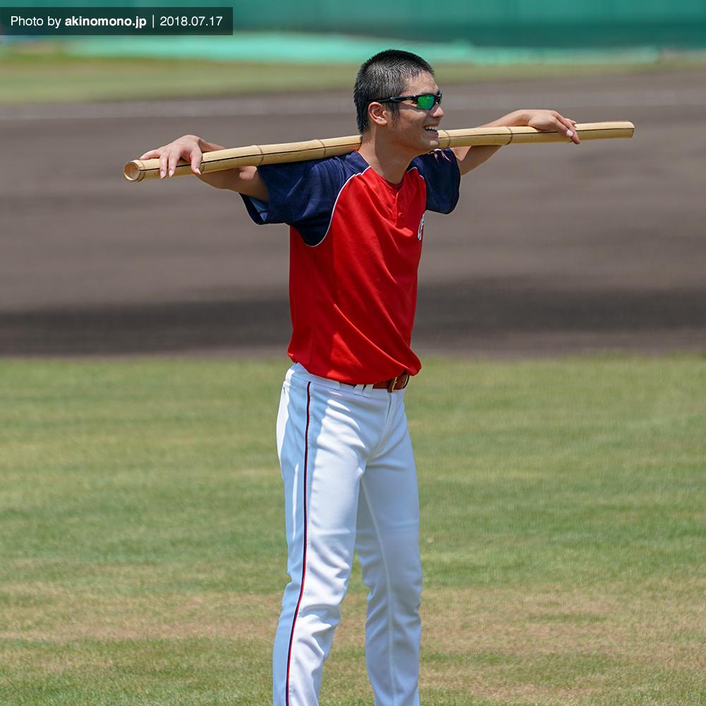 戸田隆矢投手(2018年7月17日)