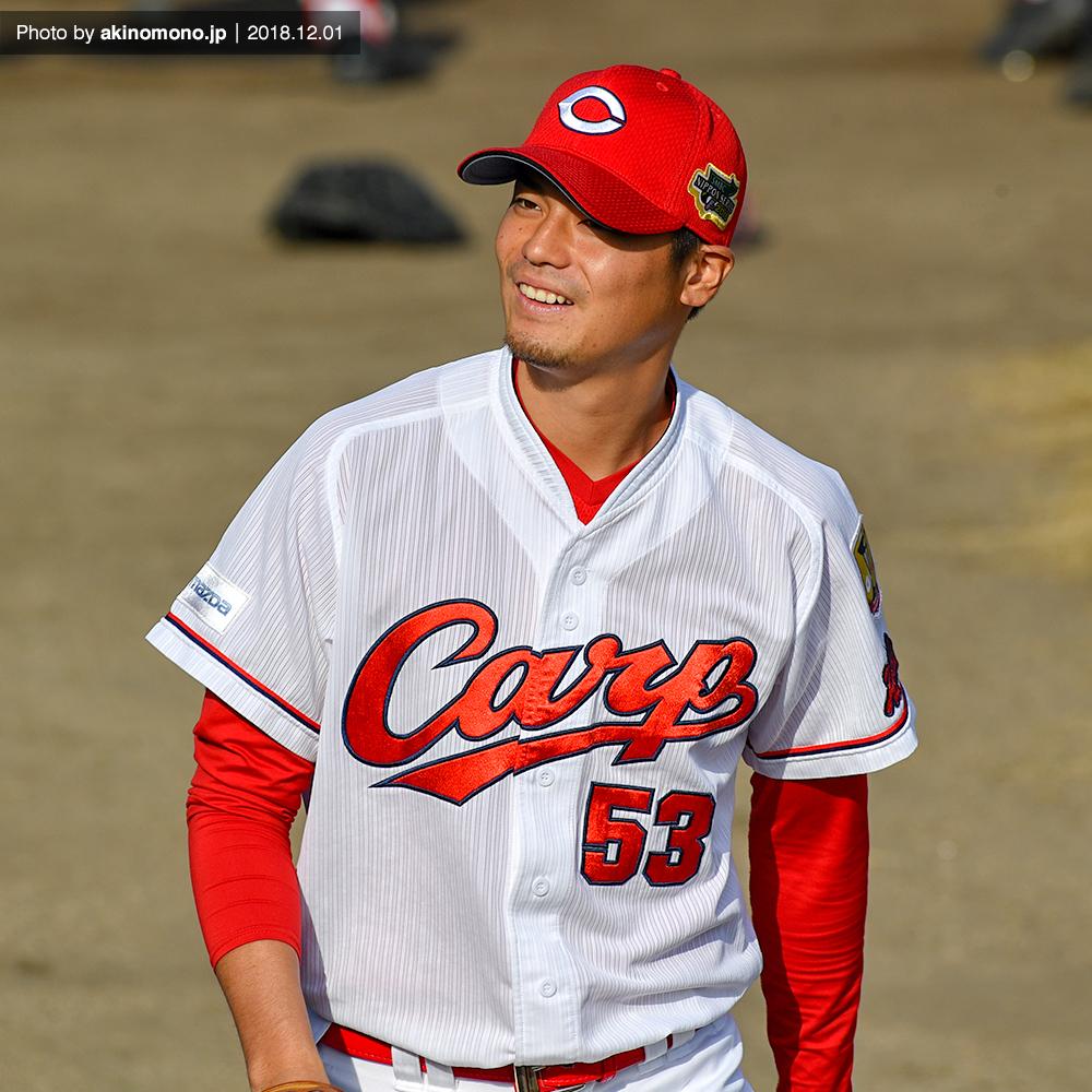 戸田隆矢投手(2018年12月1日)