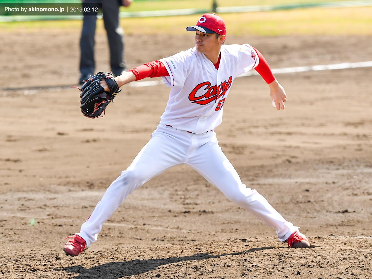 戸田隆矢投手(2019年2月12日)