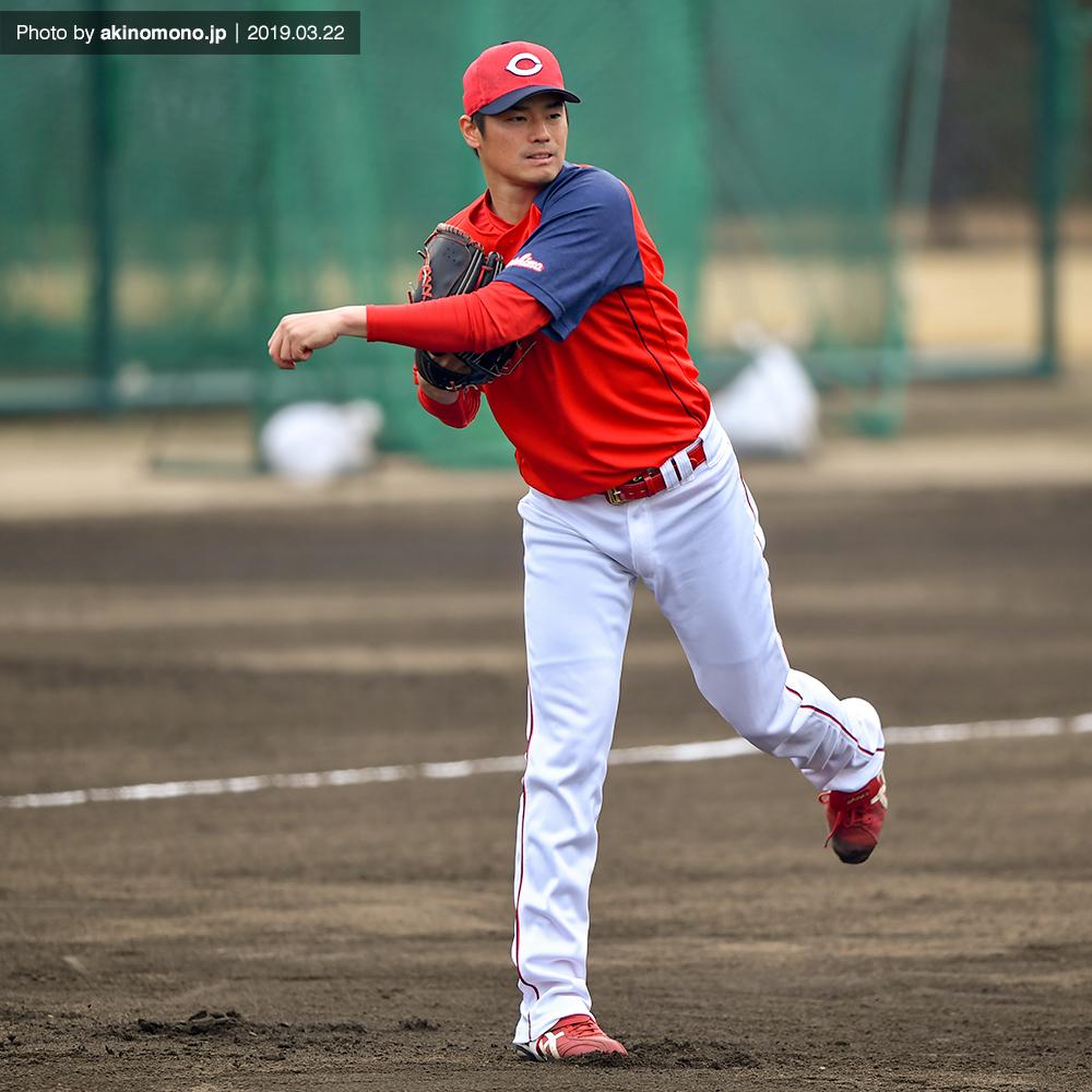 戸田隆矢投手(2019年3月22日)