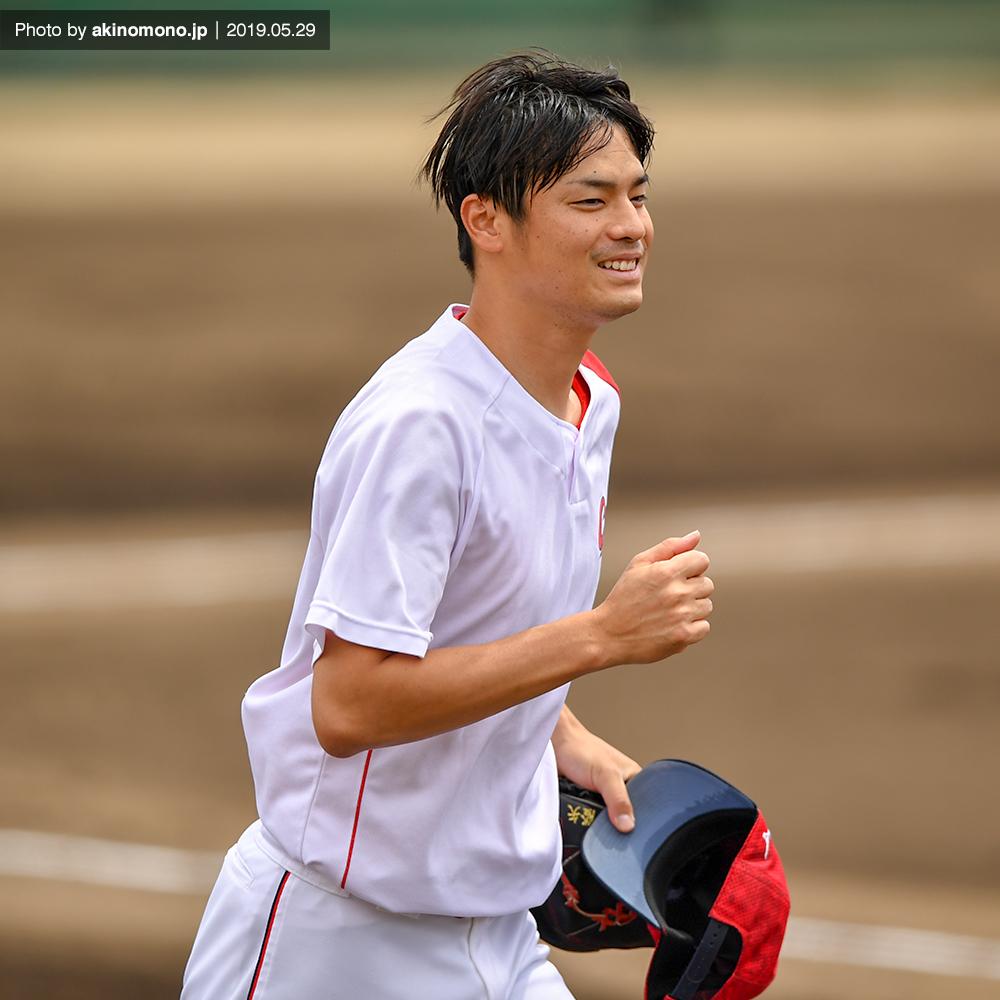 戸田隆矢投手( 2019年5月29日)