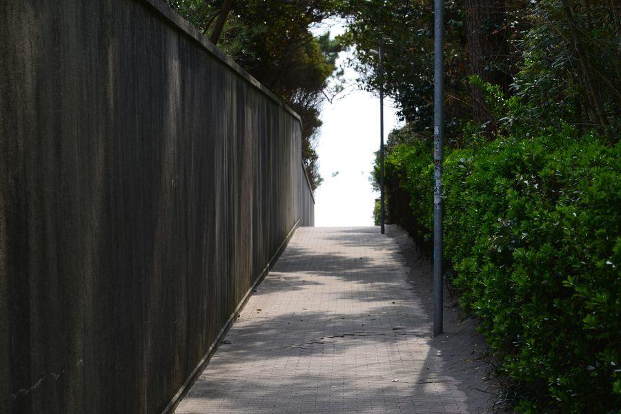 御用邸のある海岸-1