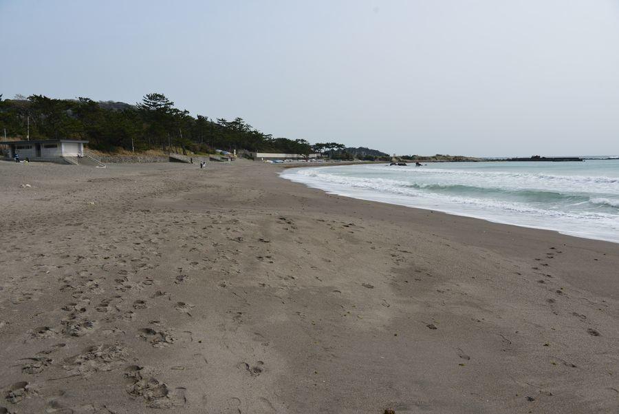 御用邸のある海岸-2