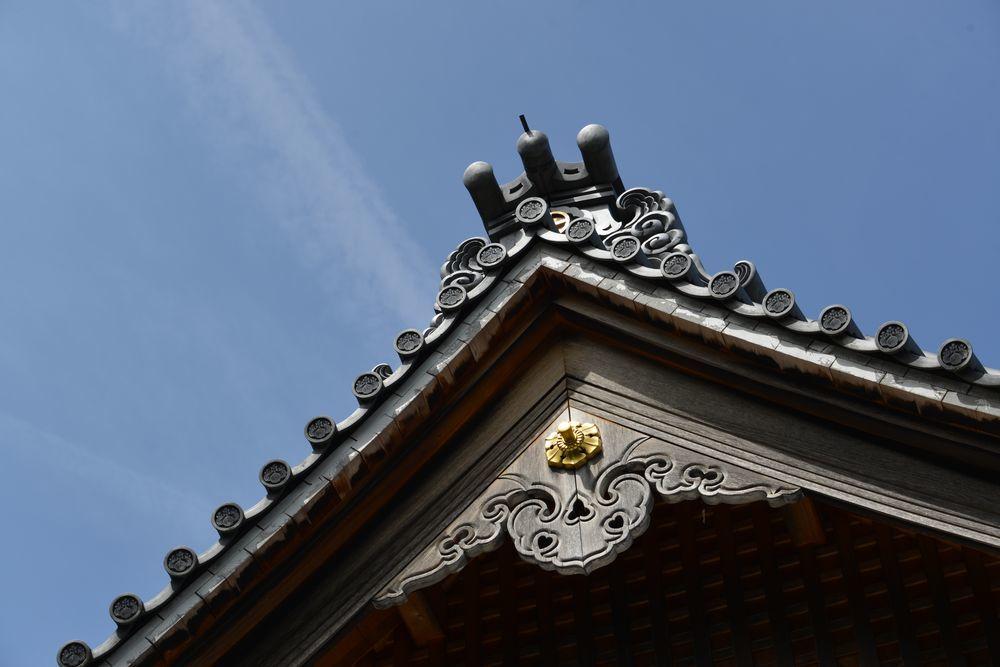 観音寺の桜-4