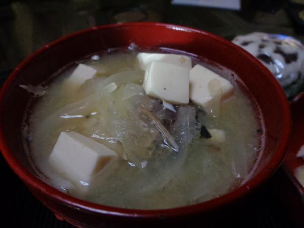 6/7 家食・鯖水煮入り味噌汁