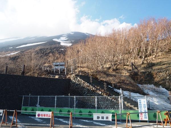 富士山富士宮登山口新五合目駐車場_20190524