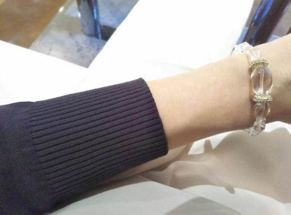 PLST UVカーディガン袖丈は短め20190523_