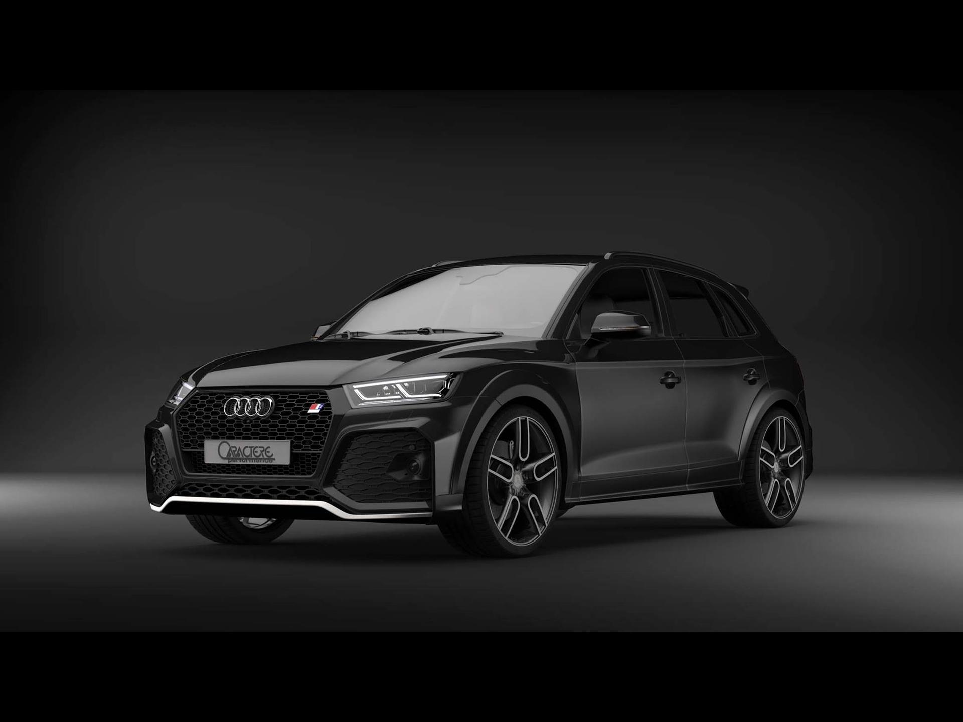 Caractere Audi Q5 2019 アウディに嵌まる 壁紙画像ブログ