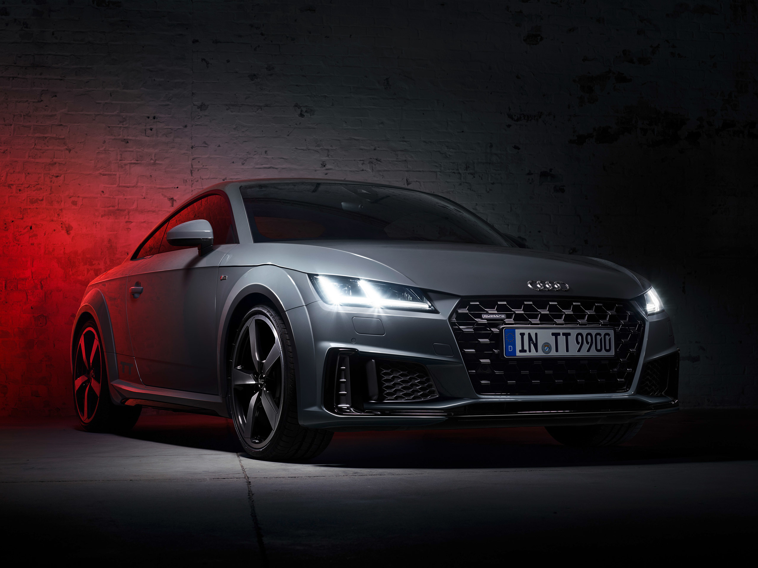 Audi Tt Quantum Gray Edition 19 アウディに嵌まる 壁紙画像ブログ