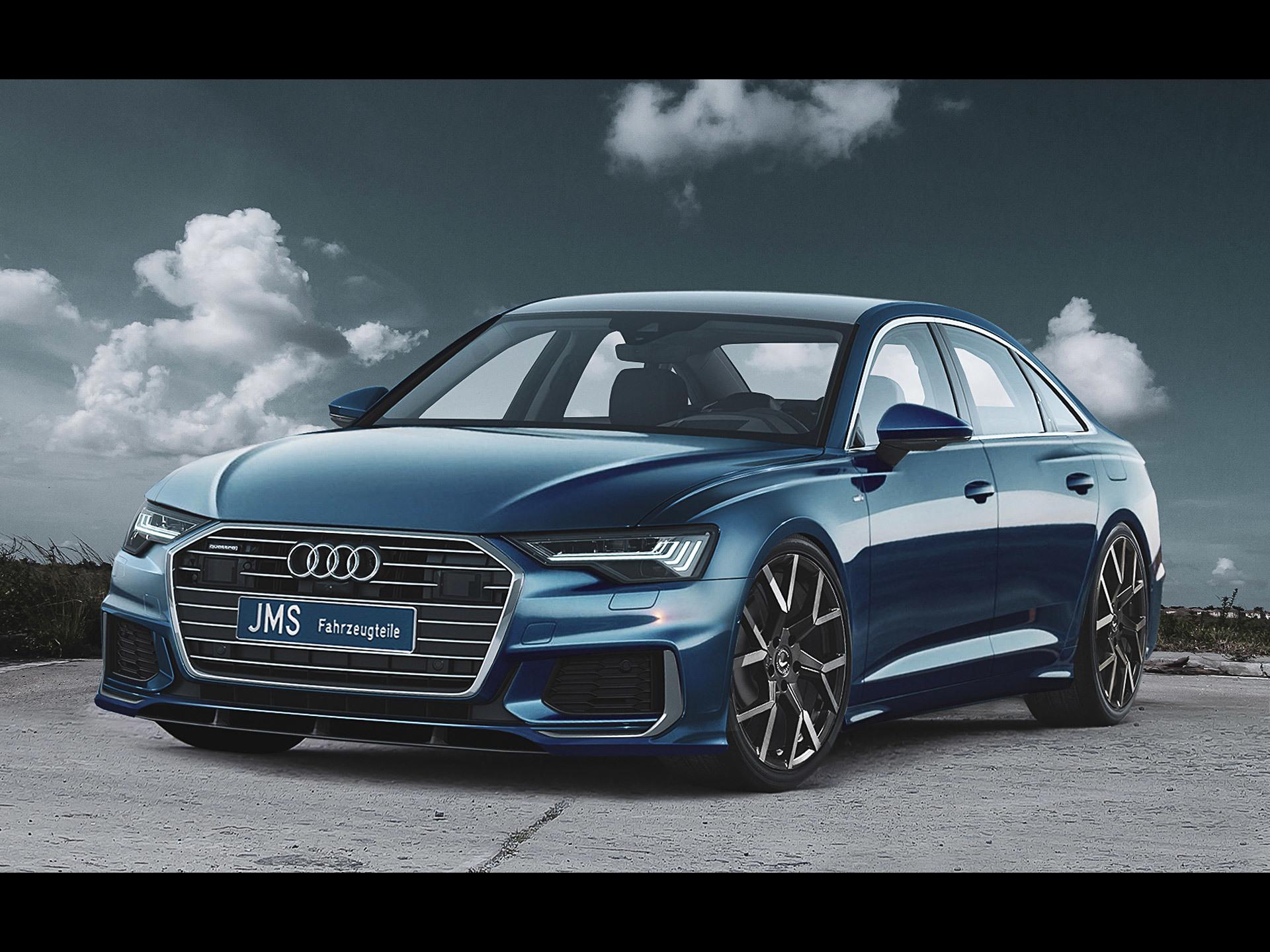 JMS Audi A6 Sedan S line [2019] - アウディに嵌まる - 壁紙画像ブログ