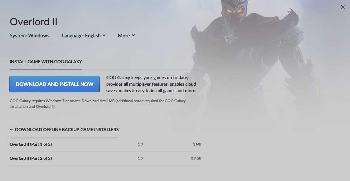 PC ゲーム Overlord II 日本語化メモ、GOG 版 Overlord II 日本語化可能