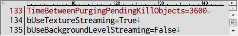 PC ゲーム OUTLAST - カクつき(Stuttering) 改善、OLEngine.ini にある TimeBetweenPurgingPendingKillObjects の数値を 3600 に設定