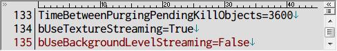 PC ゲーム OUTLAST - カクつき(Stuttering) 改善、OLEngine.ini にある bUseBackgroundLevelStreaming を False に設定