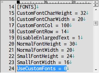 SILENT HILL 2 Enhanced Edition インストール方法と日本語化メモ、2019年4月に公開された SH2 Enhancements v1.3.1340 と Enhanced Edition Essential Files v1.0.4 をインストールして日本語ファイルをインストールした場合、漢字が表示されなくなる、おそらく Enhanced Edition Essential Files v1.0.4 に含まれる font フォルダにあるフォント表示改善ファイル font000.tga もしくは fontwdata.bin に漢字データがないため、d3d8.ini ファイルの [FONTS] セクションにあるフォント改善設定 UseCustomFonts を 0 にしてフォント表示改善を無効化することでとりあえず漢字が表示されるようになる
