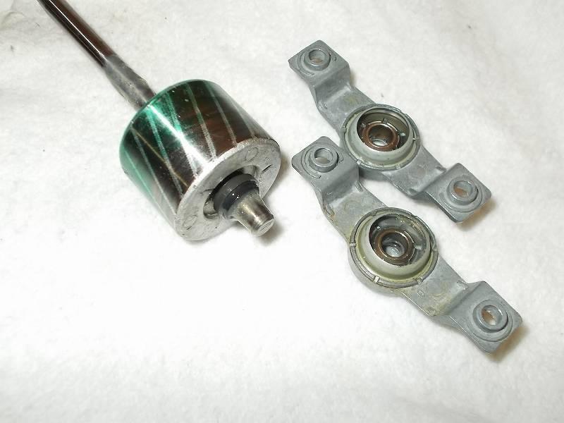 ZEPEAL ゼピール サーキュレーター ブラック DKS-20(2010年製) メンテナンス ベアリング内部(ローター軸が入るリング内部)とベアリング軸穴に接触するローターの軸回り、ローターに Wilco スラストワッシャー 軸径6.0(d6.2、D9.5、t0.25) ポリスライダーを装着してグリースメイトを噴射