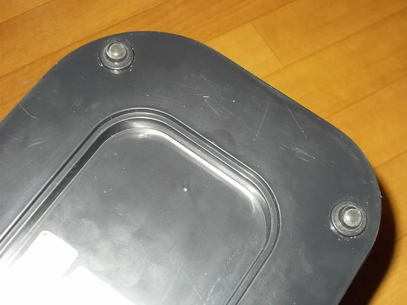 ZEPEAL ゼピール サーキュレーター ブラック DKS-20 のゴム足に 3M しっかりつくクッションゴム 11.2x5.1mm 丸形 16粒 CS-03 を貼り付け