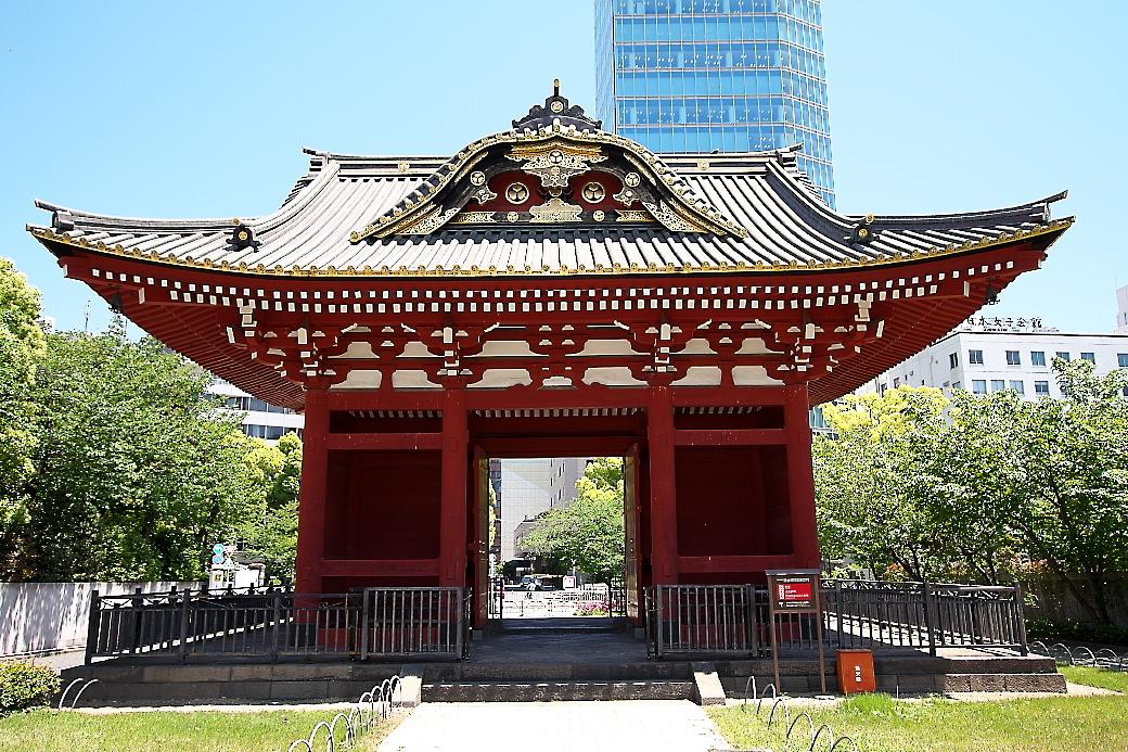 旧台徳院霊廟惣門_4