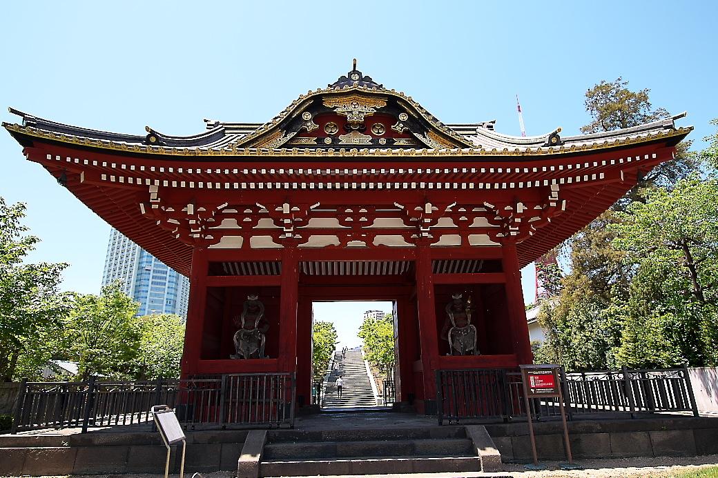 旧台徳院霊廟惣門_1