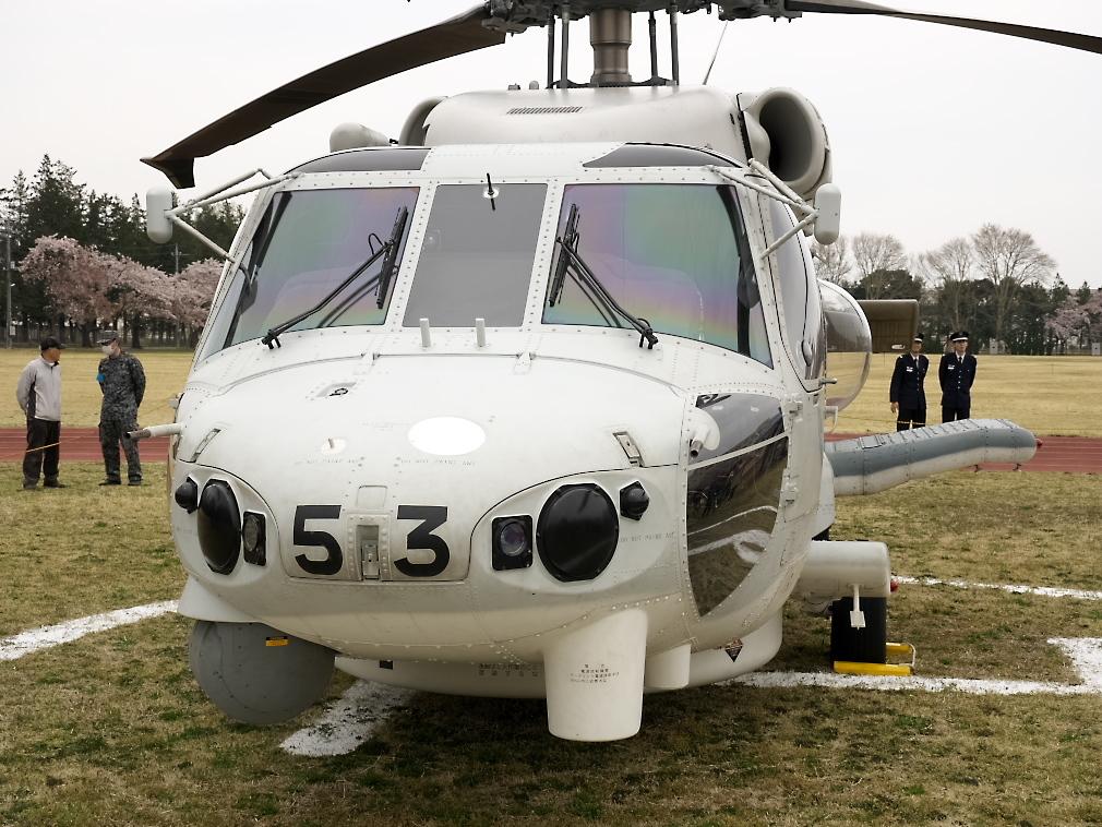 SH-60Kヘリ地上展示_3