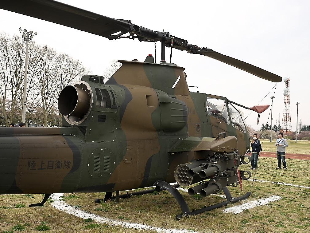 AH-1Sヘリ地上展示_6
