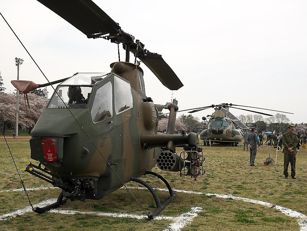 AH-1Sヘリ地上展示_2
