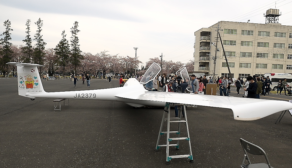 グライダーの展示_3