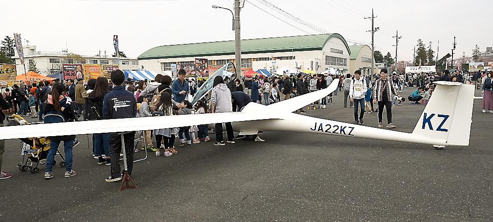 グライダーの展示_4