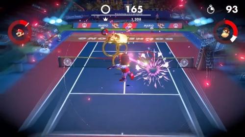 Switch『マリオテニス エース』Ver.3で新モード「リングショット」登場!
