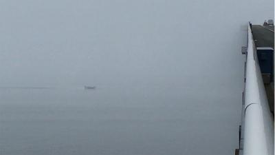 霧の琵琶湖北湖(YouTubeムービー)
